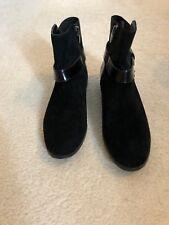 Señoras Negras Calvin Klein botas talla 3 4