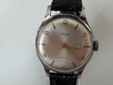 KIENZLE GDR MADE VINTAGE GENTS HAND WIND WATCH WITH DATE