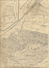 Croton-on-Hudson Crugers Chimney Corners NY 1911 Maps w/ Homeowners Names Shown