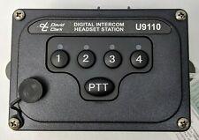 David Clark Headset Station Model U9110 ELTR2465