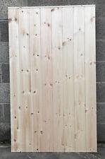 Custom Made Heavy Duty FRAMED T/G Outbuilding Garage Shed Exterior Wooden Door