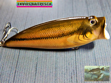 Popper Señuelo pesca Superficie Black Bass Lucio HART BAIT LURES Fishing VFR/9/0