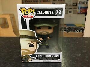 FUNKO POP! GAMES - CALL OF DUTY #72 CAPT. JOHN PRICE - MINT RARE VAULTED