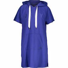 DKNY - LIMITED EDITION Women's Logo Hoodie Sneaker Dress, Blue, size MEDIUM