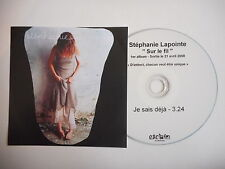 STEPHANIE LAPOINTE : SUR LE FIL [ CD PROMO ] ~ PORT GRATUIT !