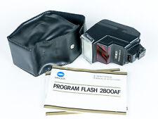 Vintage Minolta Program 2800AF TTL Hot-Shoe Flash