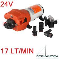 Pompa autoclave Barca Gommone Camper - SEAFLO 24v 17 Litro/min con Pressostato