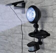 LED Solarlampe hell Bewegungsmelder - Solarleuchte Wandleuchte Solarstrahler