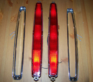 OEM 89-93 Cadillac DeVille & Hot Rod Tail Lights