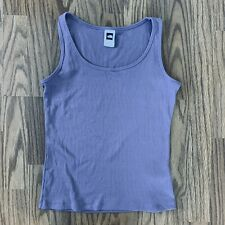 The North Face Medium Vaporwick Ribbed Sleeveless Tank Top Purple GUC!
