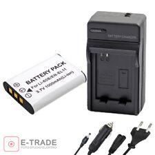 EN-EL11 D-LI78 Battery + CHARGER For Nikon Coolpix S520 S550 S560 - 1000mAh