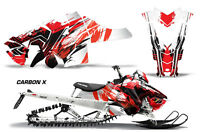Snowmobile Graphics Kit Decal Sticker Wrap For Polaris Axys SKS 15-16 CARBONX R