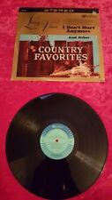 Living voices I don't hurt anymore and other country favorites record VG+  #3
