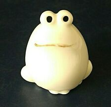 More details for bristolia japan 4cm vintage frog novelty figurine **hairline cracks to rear**
