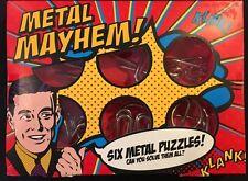 Metal Mayhem! Six Metal Puzzles New
