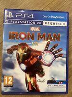 Marvel's Iron Man VR -- Standard Edition (Sony PlayStation 4, 2020)