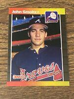 Vintage 1989 Donruss #642 JOHN SMOLTZ RC Atlanta Braves SP RP HOF RATE NrMt/Mt