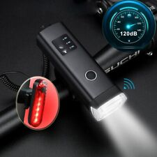 Bicycle Light USB Rechargeable LED Bike Front Rear Light Set For Cycling Bike