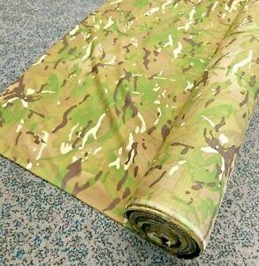 New British Army Military MTP Rip Stop Multi Terrain Pattern Material Fabric