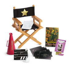 American Girl REBECCA DIRECTOR SET for Dolls Movie Chair Tickets REBECCA'S NEW