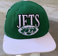 New York Jets Hat Snapback Cap Green NFL Football Mitchell & Ness Retro Adult