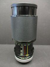 Vivitar Series 1 70-210mm f3.5 macro zoom lens Canon FD very clean