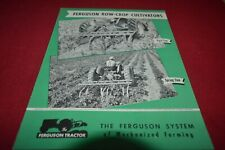 Ferguson Tractor Row Crop Cultivators Dealer's Brochure AMIL15