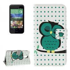 Schutzhülle Muster 41 für HTC Desire 526G Bookcover Tasche Hülle Wallet Case Neu