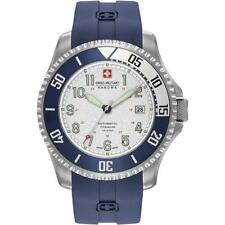 SWISS MILITARY HANOVA MEN'S TRITON 47MM BLUE AUTOMATIC WATCH 05-4284.15.001