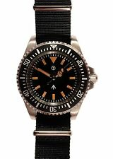 Military Industries 1982 Pattern 300m Divers Watch - Black N.A.T.O Webbing Strap