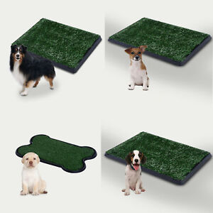 Large Dog Toilet Mat Indoor Potty Puppy Trainer Grass Litter Tray Pad Restroom