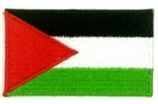 us seller small Palestine national country Flag sew or Iron On Patch 1670