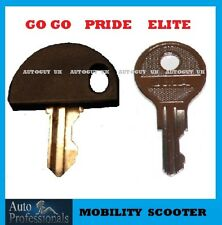 2 X  Pride  GoGo  Elite  Apex  Sport  Celebrity  Colt  mobility scooter keys