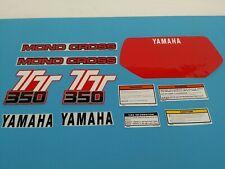 YAMAHA TT350 1986 DECAL GRAPHIC SET (#Y58)