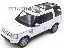 WELLY 24008 LAND ROVER DISCOVERY 4 SUV 1/24 DIECAST MODEL CAR WHITE