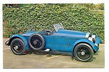 1917 Cunningham Boattail Speedster V8 Roadster Postcard Costa Mesa California