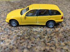 Cararama Hongwell BMW 3 Series Touring Medium Yellow 1 72 Scale Loose No Box
