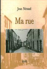 Livre ma rue Jean Néraud  book