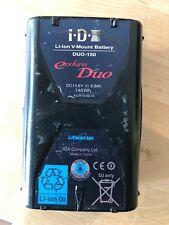 IDX Duo 150 146Wh Li-ion V-Mount Battery with USB Output - SKU#1230685