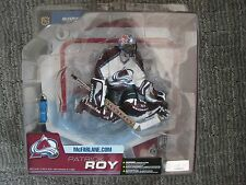 McFarlane Toys NHL Series 6 Patrick Roy (Avalanche) and NHLPA figure LOT of 2
