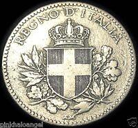 Kingdom of Italy  Italian 1919R 20 Centesimi Coin  World War 1