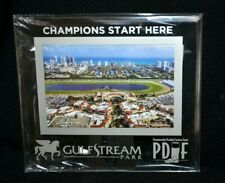 "GULFSTREAM PARK FLORIDA ""CHAMPIONS START HERE"" 4X6 PICTURE FRAME PDJF NEW"