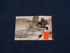 TONY HUNT PHILADELPHIA EAGLES PENN STATE 2007 SP AUTHENTIC CHIROGRAPHY AUTO RC