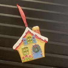 Mary Engelbreit Glitter House Christmas Ornament
