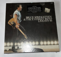 Bruce Springsteen and the E Street Band: Live/1975-85 5LPs Sealed Box Set Vinyl