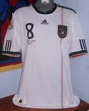ADIDAS GERMANY WC2010 VS SPAIN OZIL ORIGINAL SOCCER FOOTBALL JERSEY SHIRT
