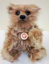 690891 Grizzly Ted Cub Caramel Mohair 28cm Limited Edition by Steiff