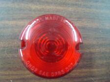 RED TURN SIGNAL LENS FOR HARLEY SPORTSTER XL FXD DYNA FXR 86-01 & FXST 86-99