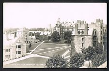 RPPC Real Photo Postcard ~ Princeton NJ ~ Princeton University Campus