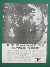 6/1979 PUB GRUMMAN ELECTRONIC SYSTEM HAWKEYE PROWLER EF-111 RAVEN FRENCH AD